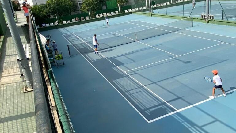 Mini Torneo de nuestra Escuela de Tenis como cierre de fin de curso 2020/2021